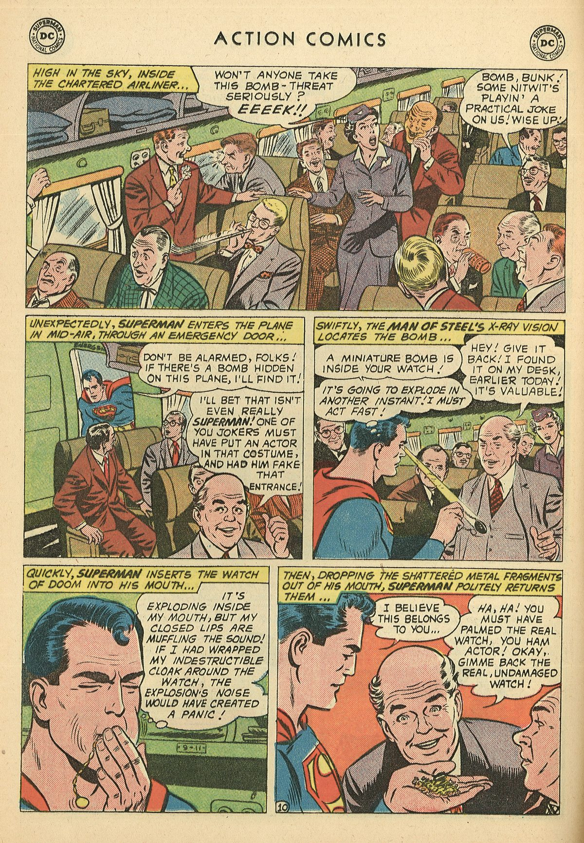 Read online Action Comics (1938) comic -  Issue #269 - 12