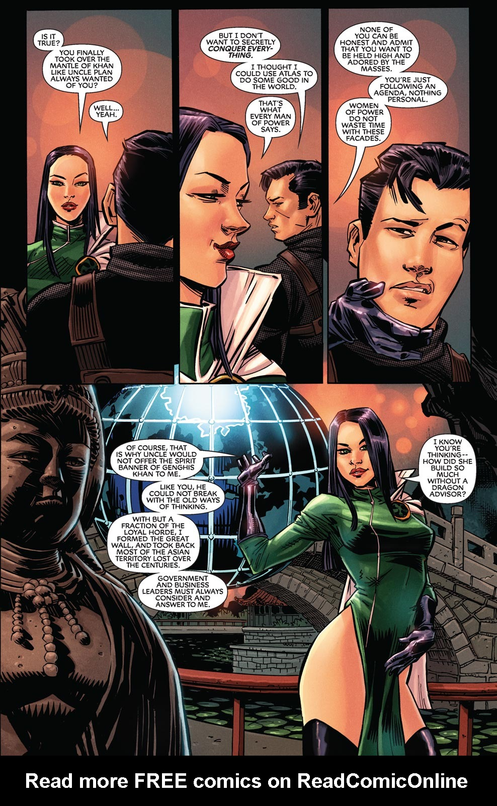 Read online Agents Of Atlas (2009) comic -  Issue #9 - 4