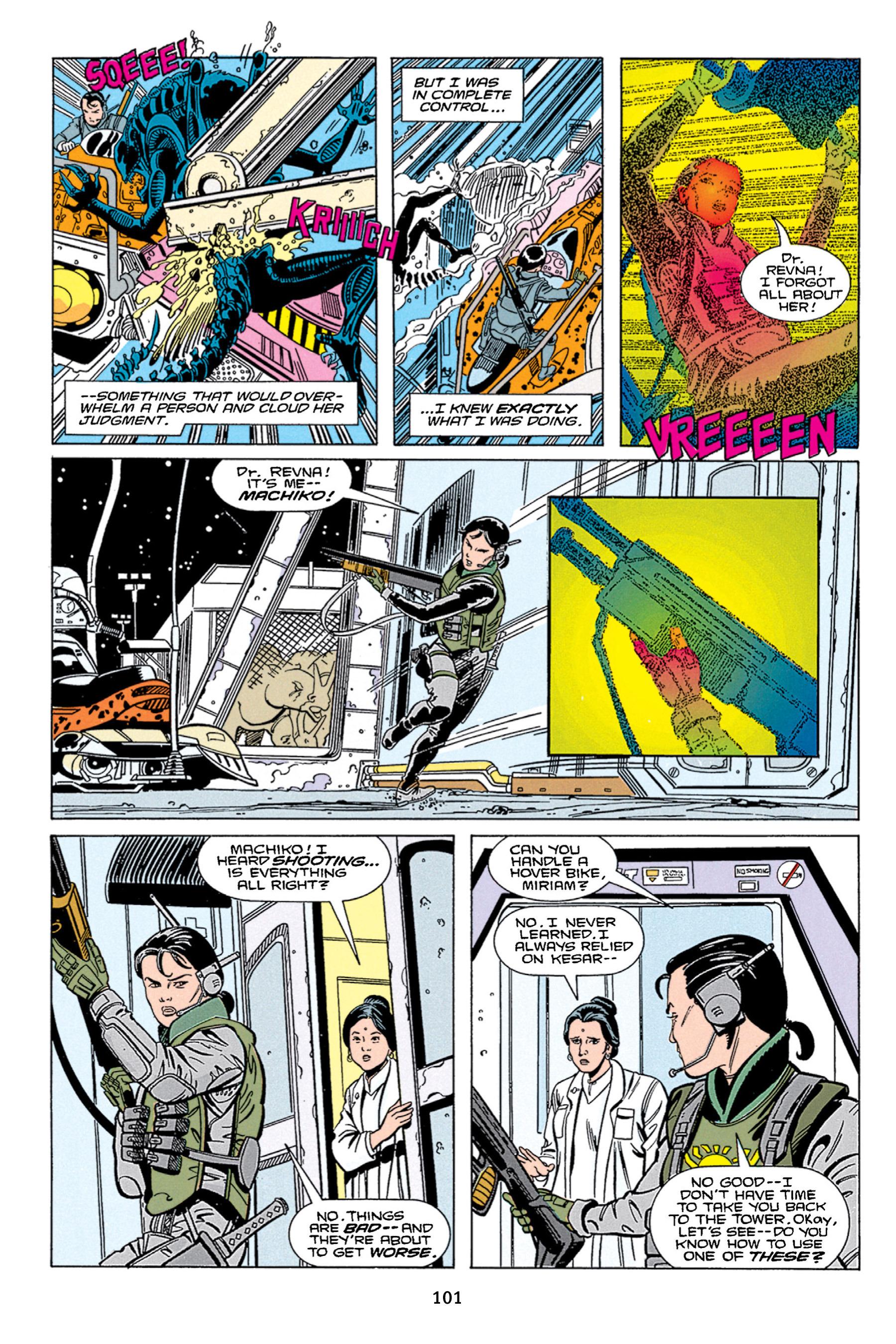 Read online Aliens vs. Predator Omnibus comic -  Issue # _TPB 1 Part 1 - 101