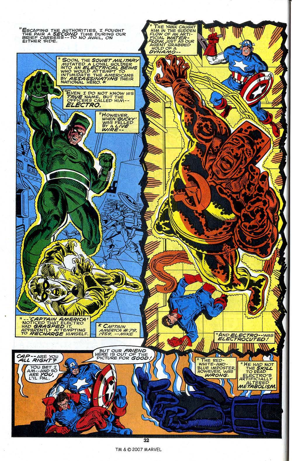 Read online Captain America (1968) comic -  Issue # _Annual 13 - 34