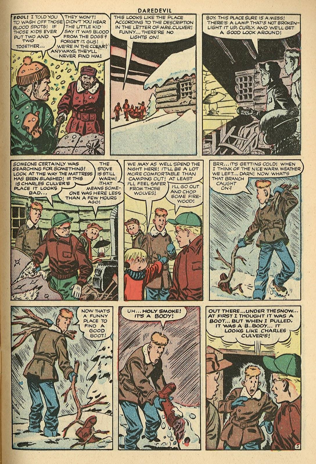 Daredevil (1941) issue 101 - Page 7