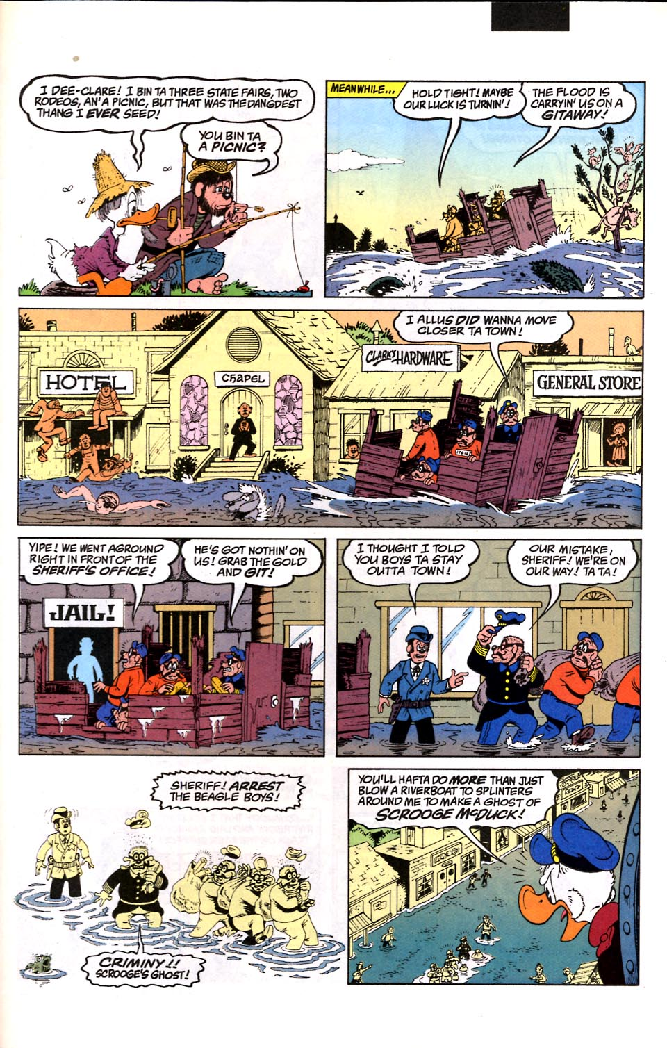 Read online Uncle Scrooge (1953) comic -  Issue #286 - 28