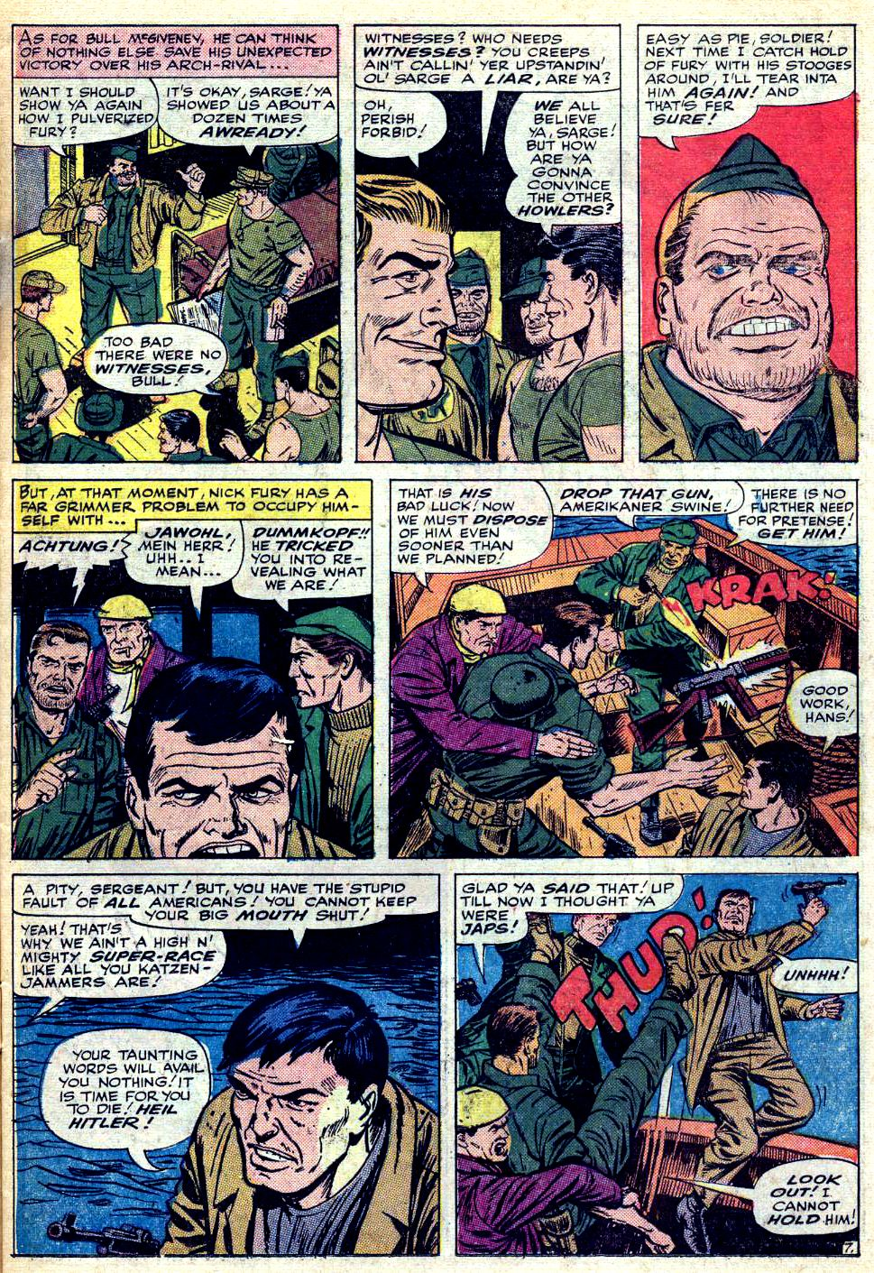 Read online Sgt. Fury comic -  Issue #25 - 11