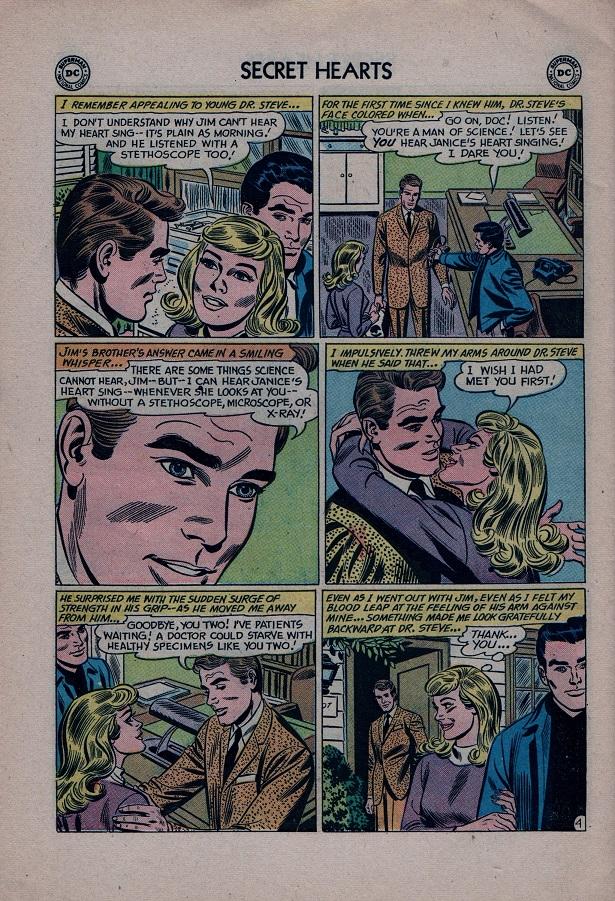 Read online Secret Hearts comic -  Issue #79 - 30
