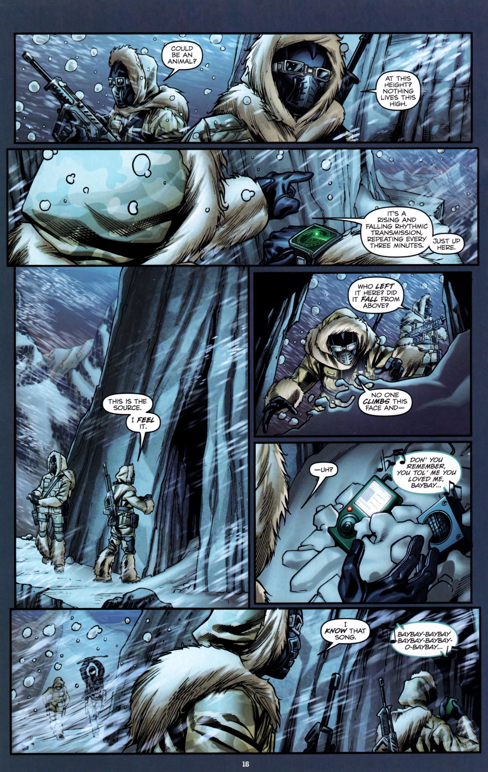 Read online G.I. Joe: Snake Eyes comic -  Issue #1 - 21