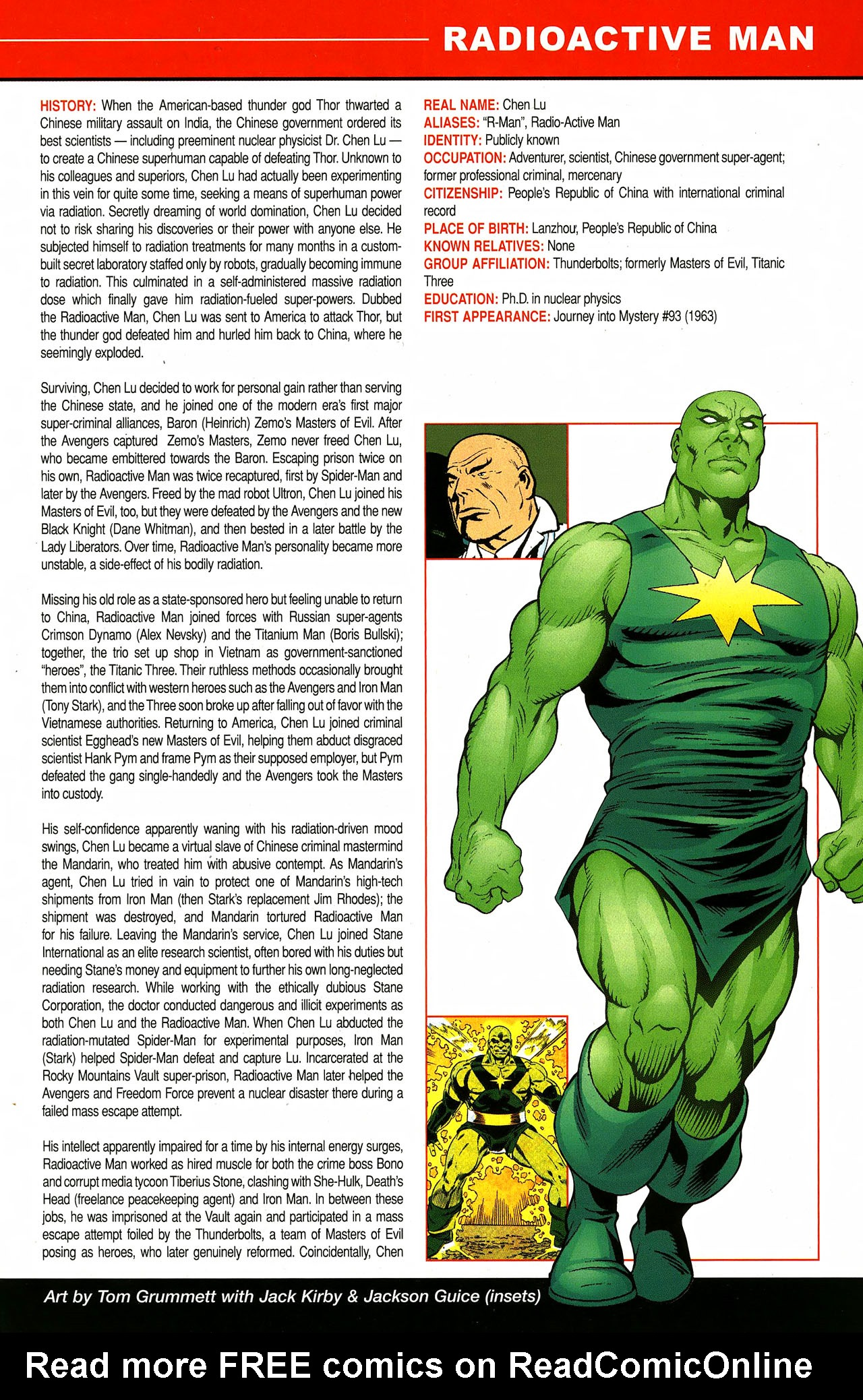 Read online All-New Official Handbook of the Marvel Universe A to Z comic -  Issue #9 - 9