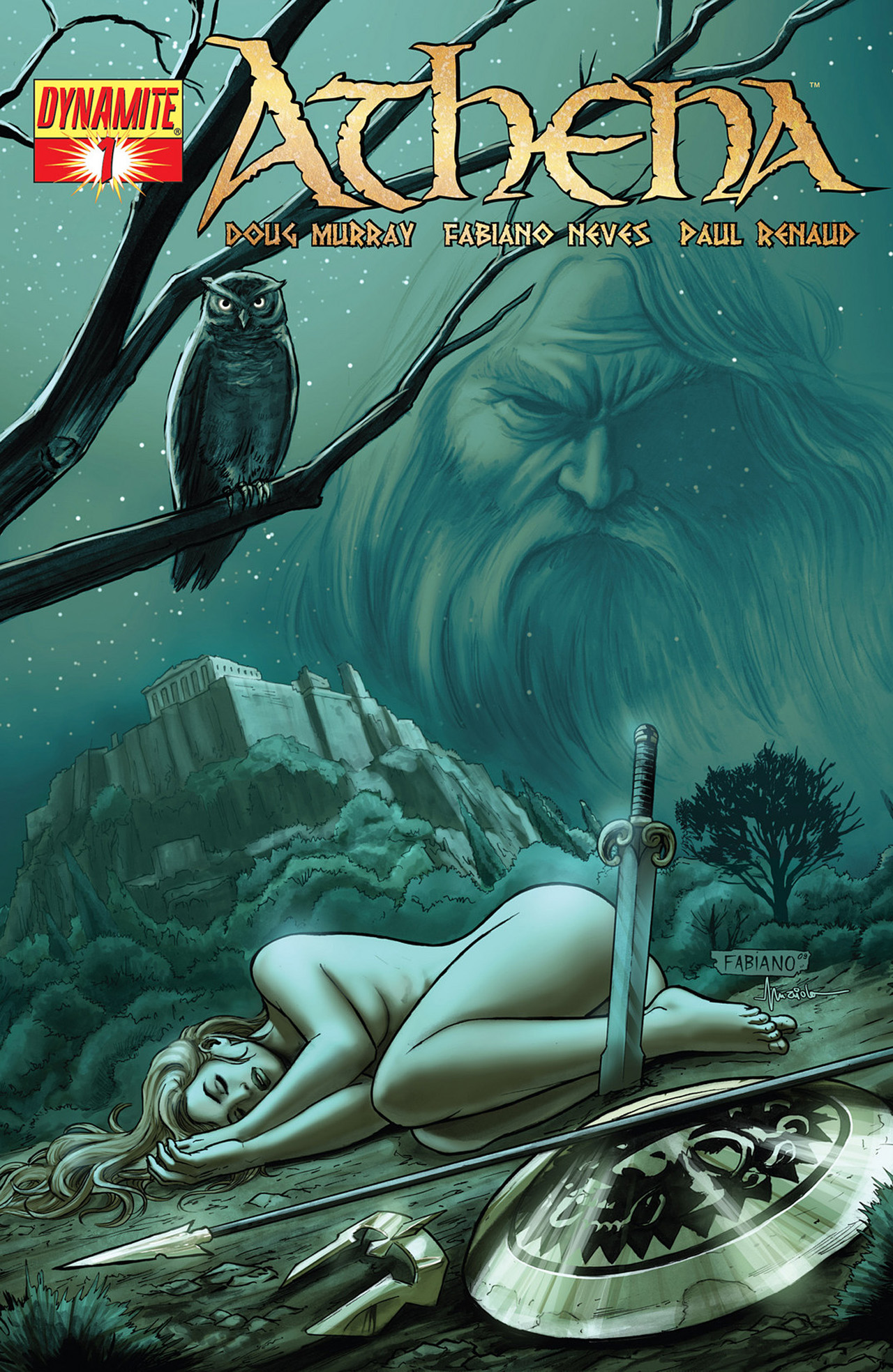 Read online Athena comic -  Issue #1 - 3