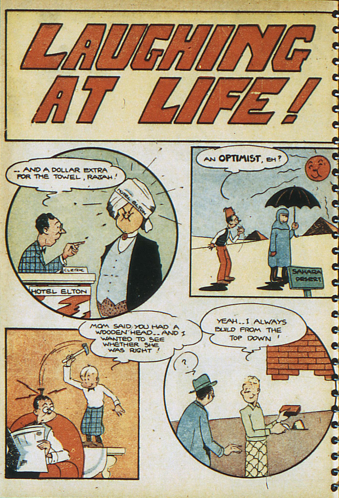 Read online Adventure Comics (1938) comic -  Issue #23 - 22