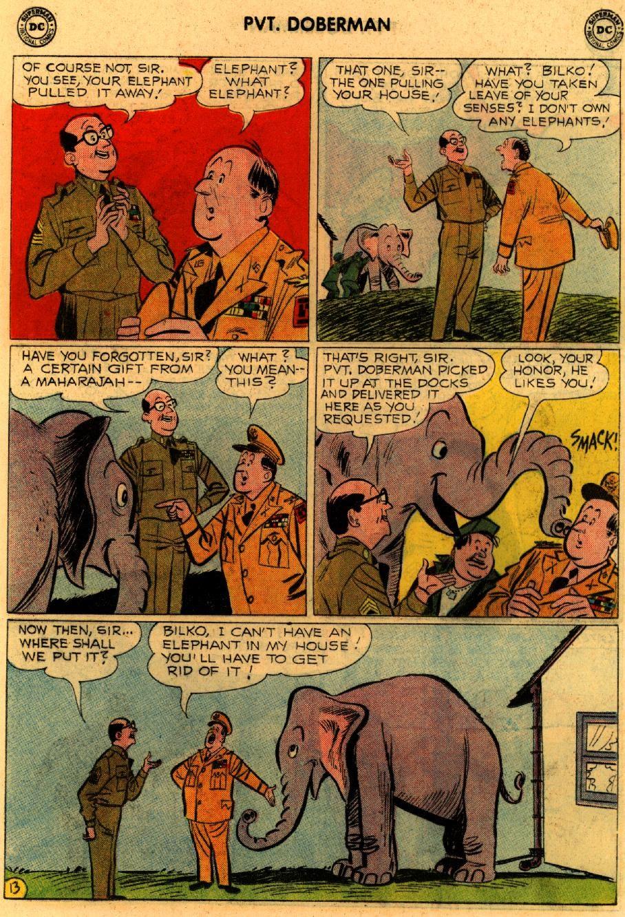 Sgt. Bilko's Pvt. Doberman issue 9 - Page 17
