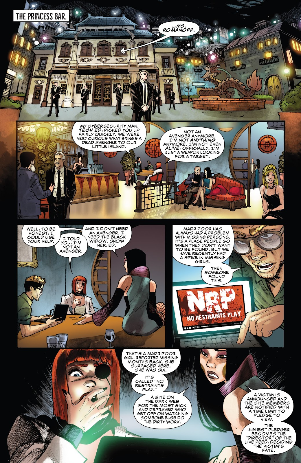 Read online Black Widow (2019) comic -  Issue #1 - 21
