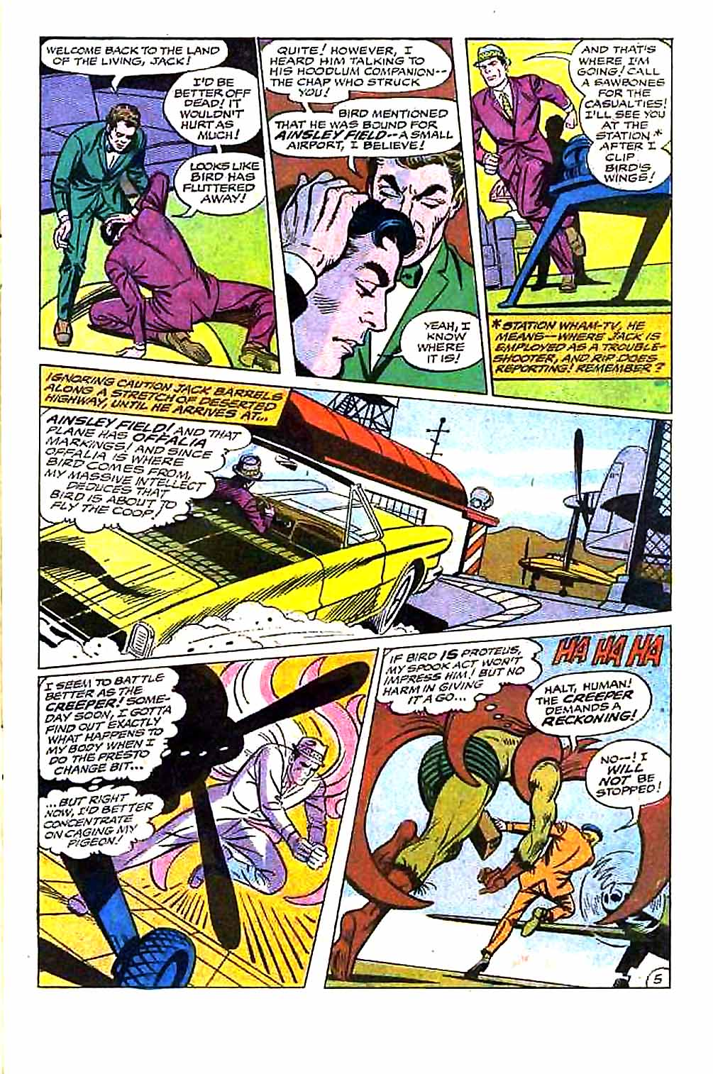 Beware The Creeper (1968) issue 5 - Page 7