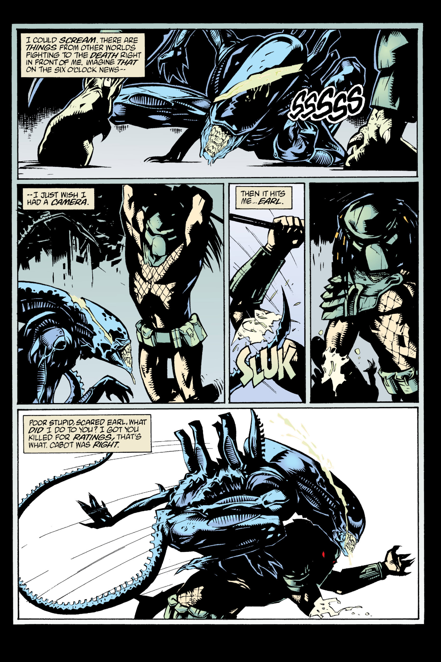 Read online Aliens vs. Predator Omnibus comic -  Issue # _TPB 1 Part 4 - 112