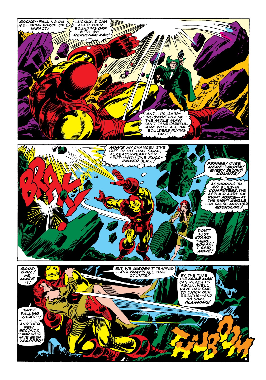 Read online Marvel Masterworks: The Invincible Iron Man comic -  Issue # TPB 4 (Part 1) - 63