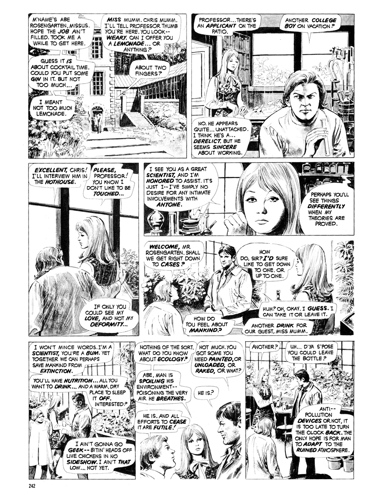 Read online Eerie Archives comic -  Issue # TPB 9 - 243
