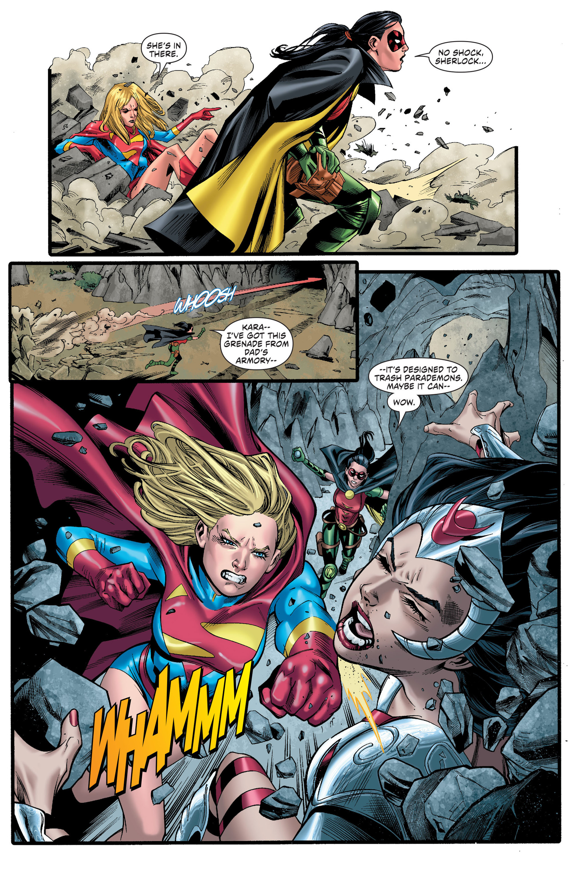Read online Worlds' Finest comic -  Issue # _Annual 1 - 34