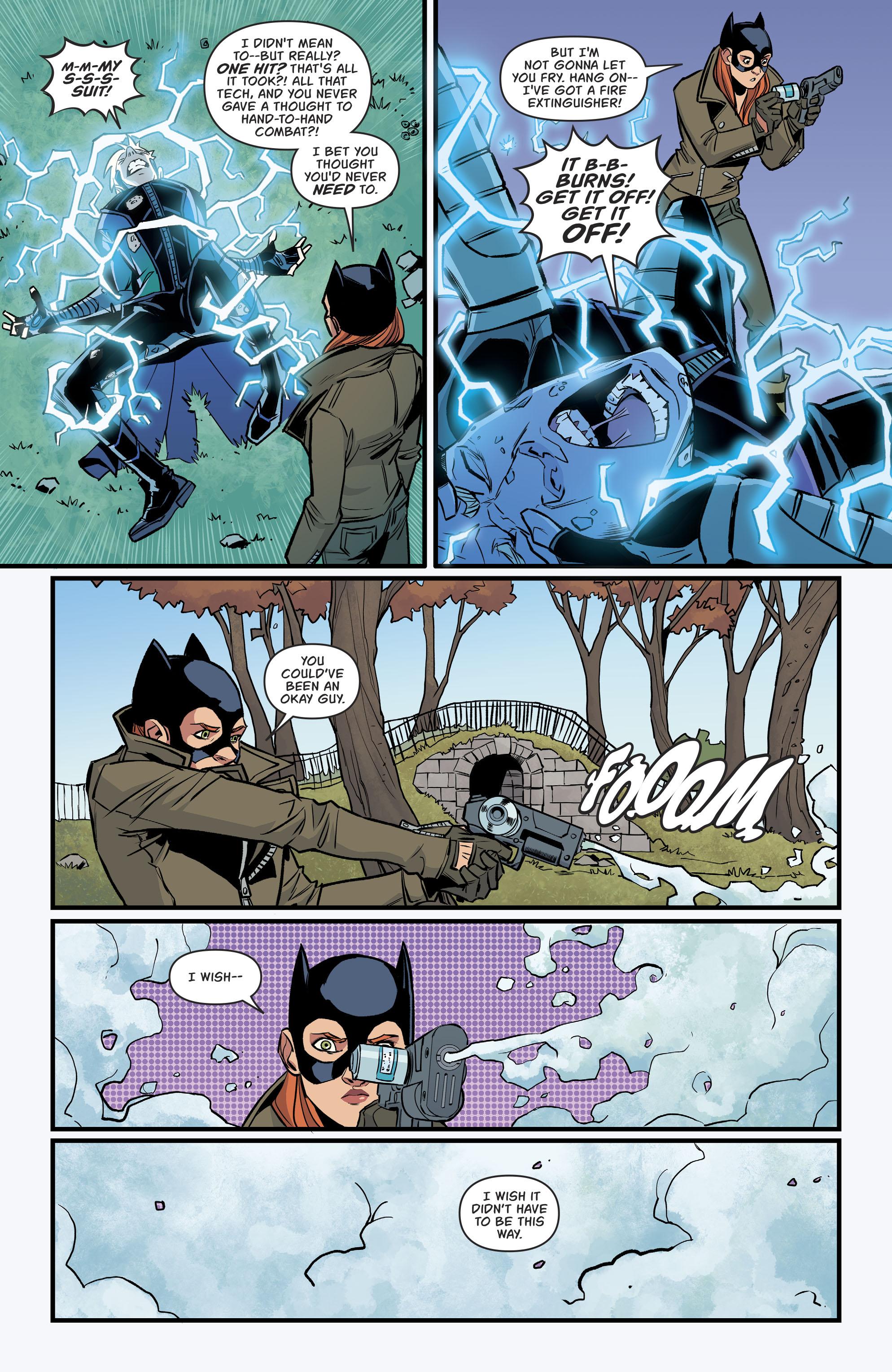 Read online Batgirl (2016) comic -  Issue #11 - 20