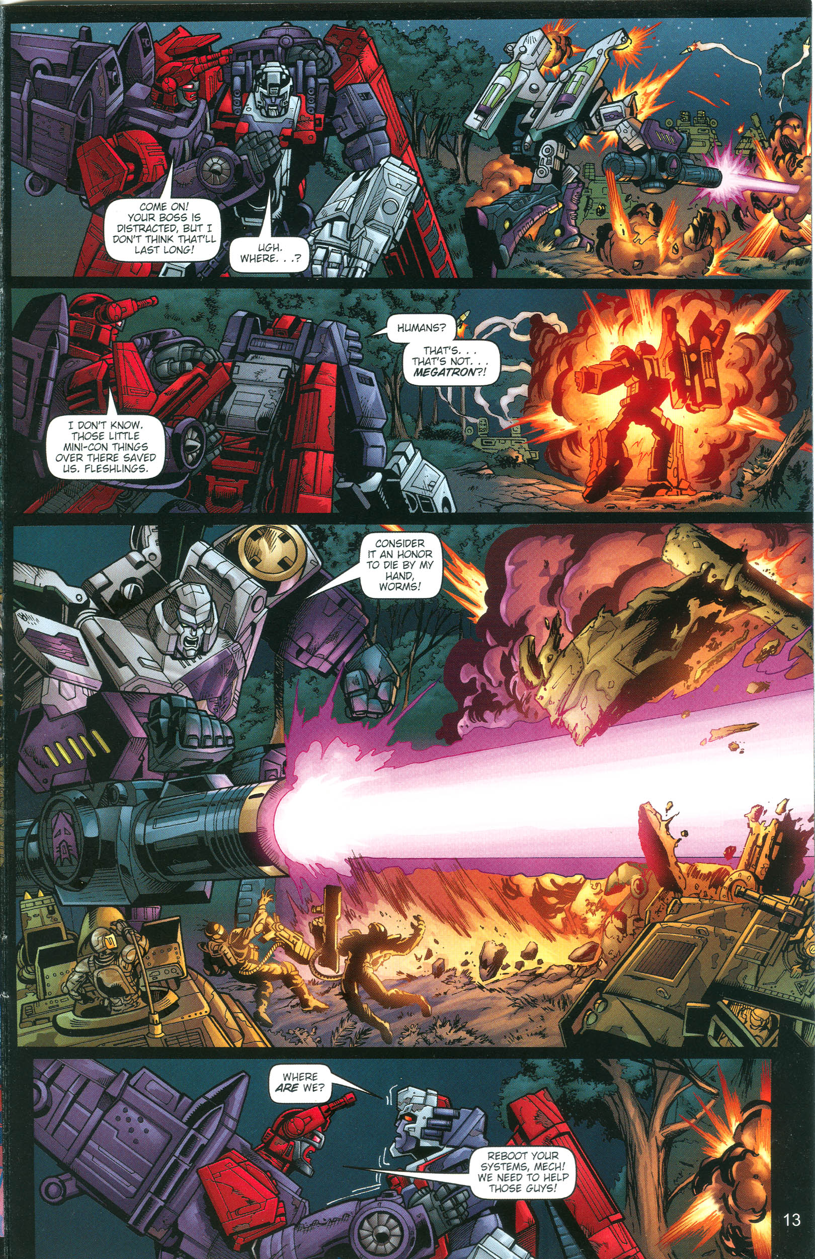 Read online Transformers: Collectors' Club comic -  Issue #13 - 13