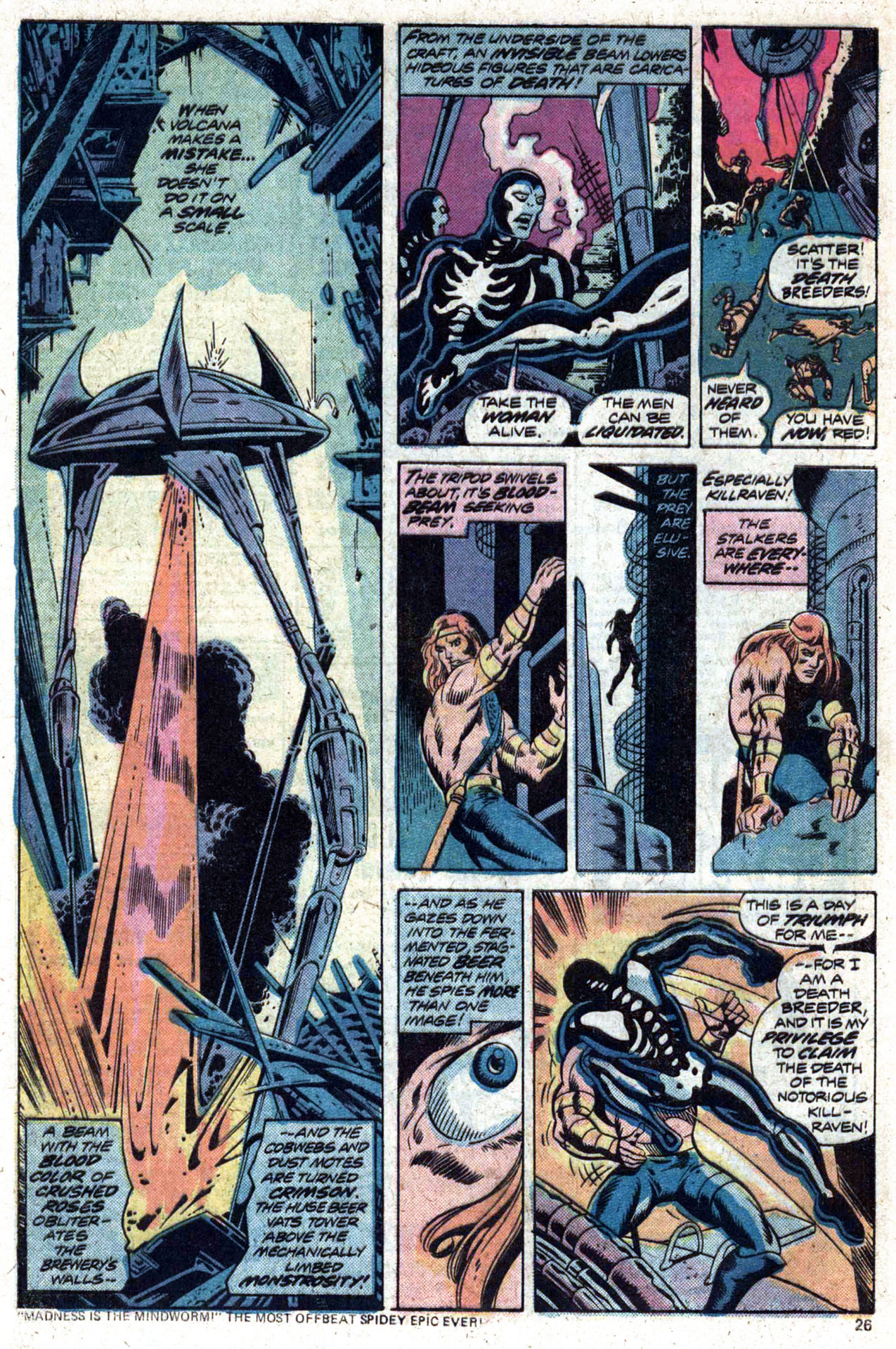 Read online Amazing Adventures (1970) comic -  Issue #27 - 27