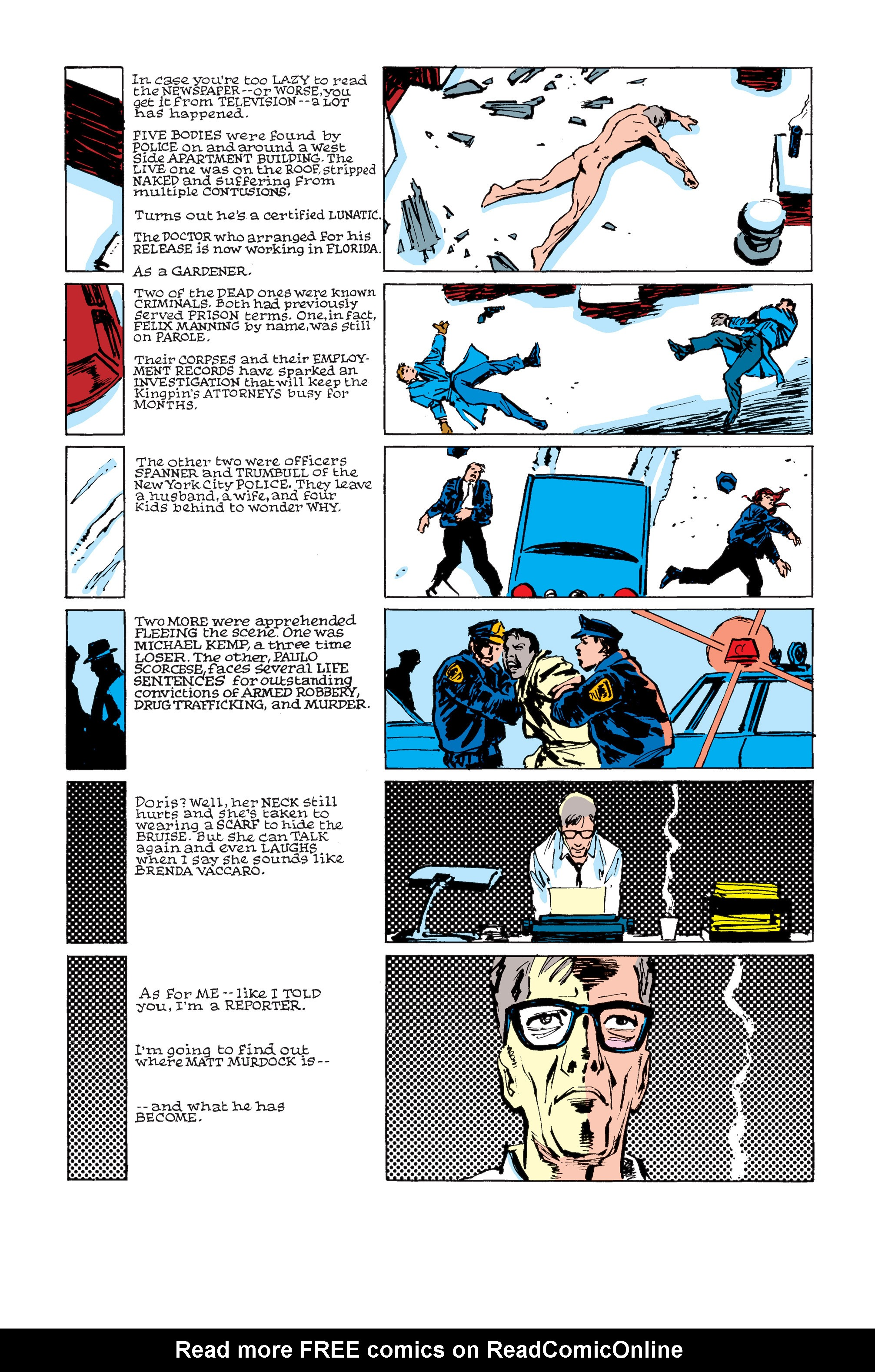 Read online Daredevil: Born Again comic -  Issue # Full - 145