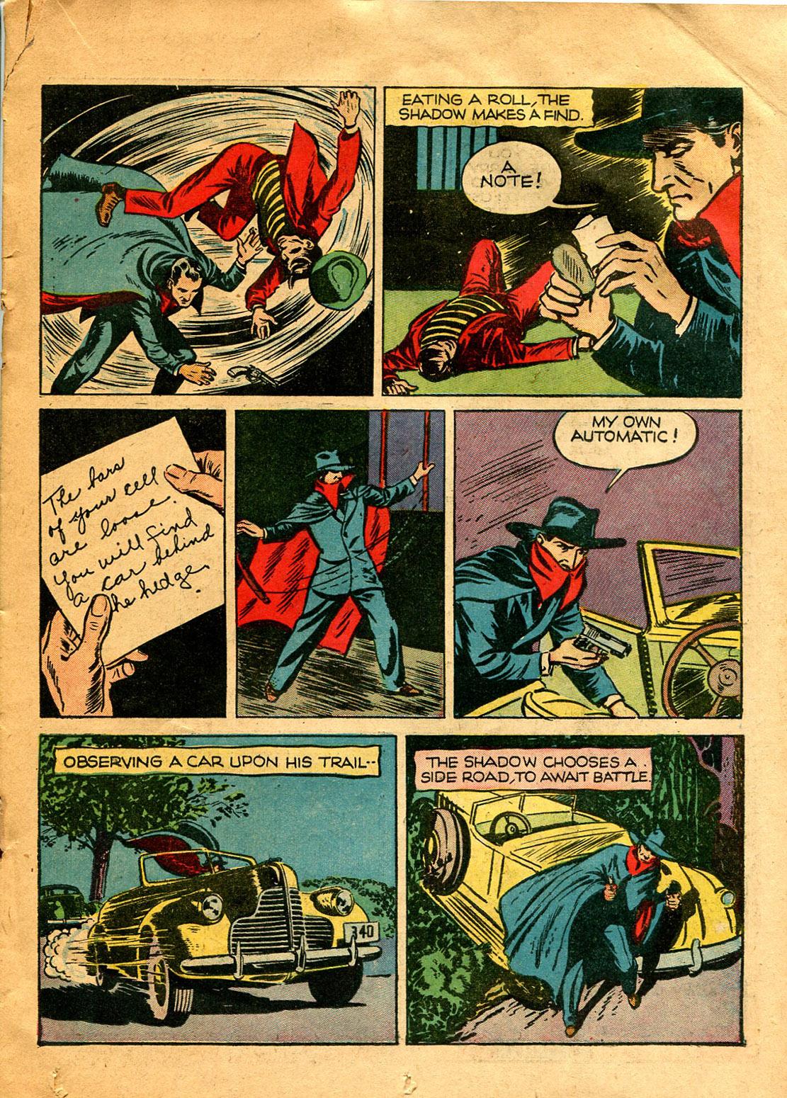 Read online Shadow Comics comic -  Issue #9 - 27