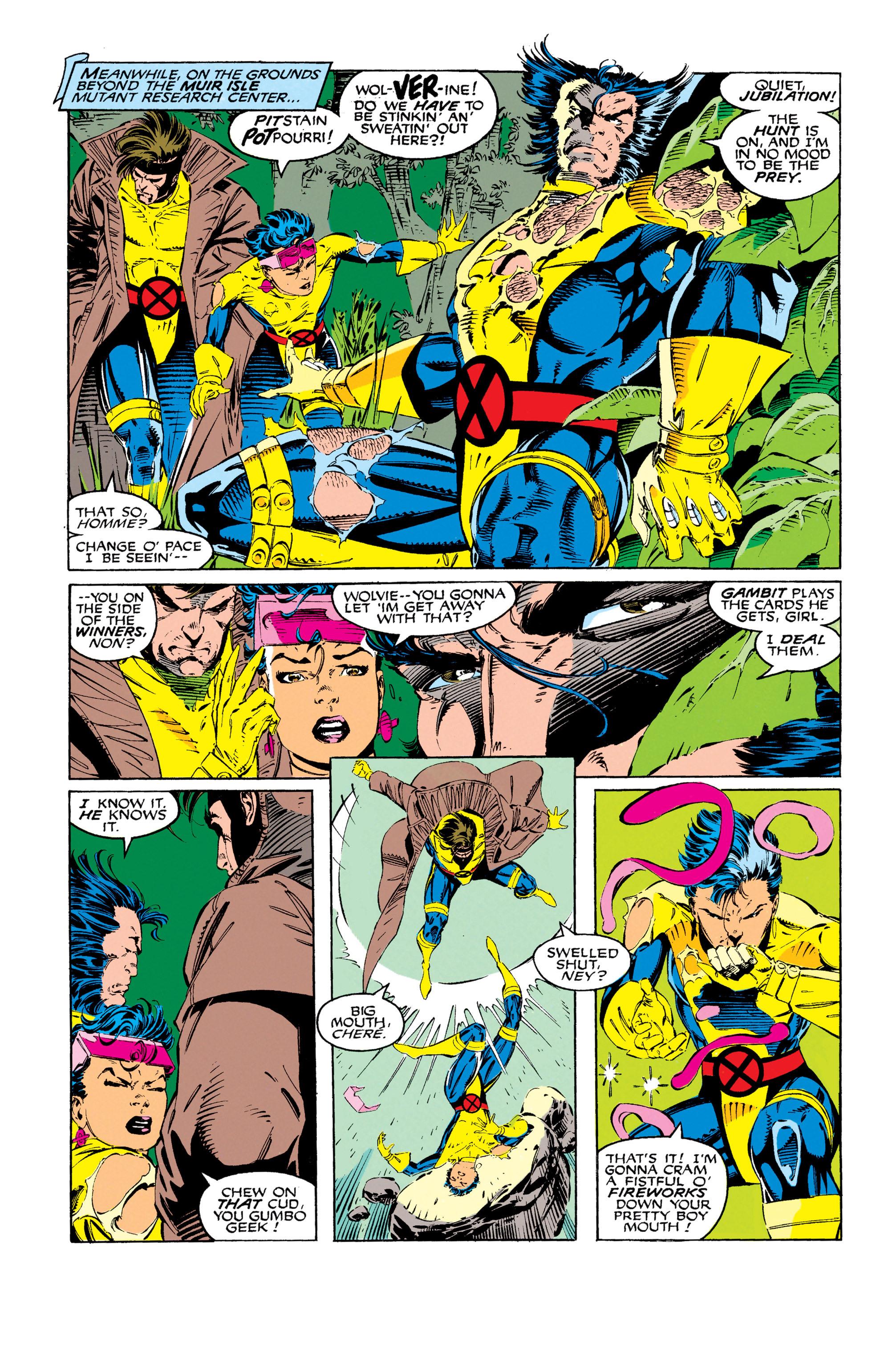 Read online Uncanny X-Men (1963) comic -  Issue #279 - 14