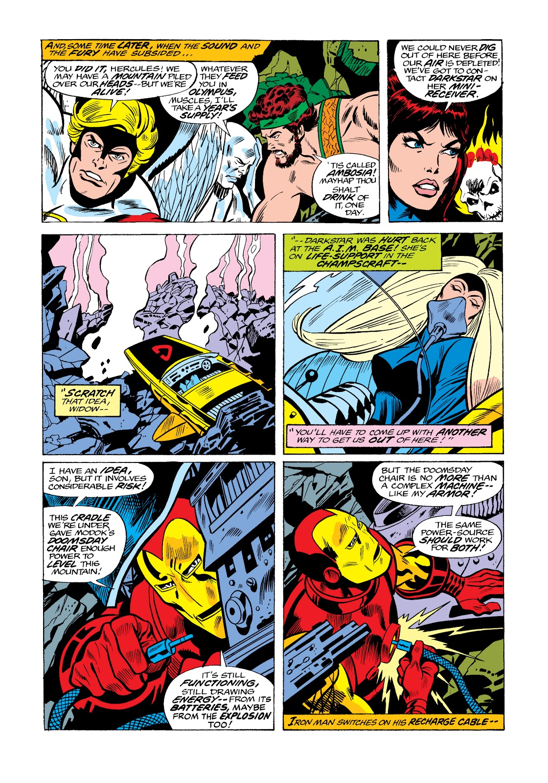 Read online Marvel Masterworks: The Invincible Iron Man comic -  Issue # TPB 11 (Part 3) - 111