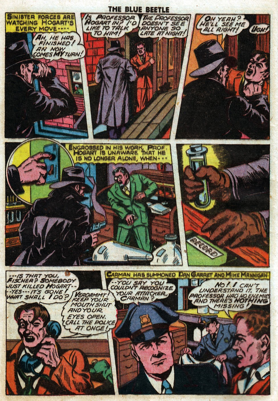 The Blue Beetle issue 33 - Page 16