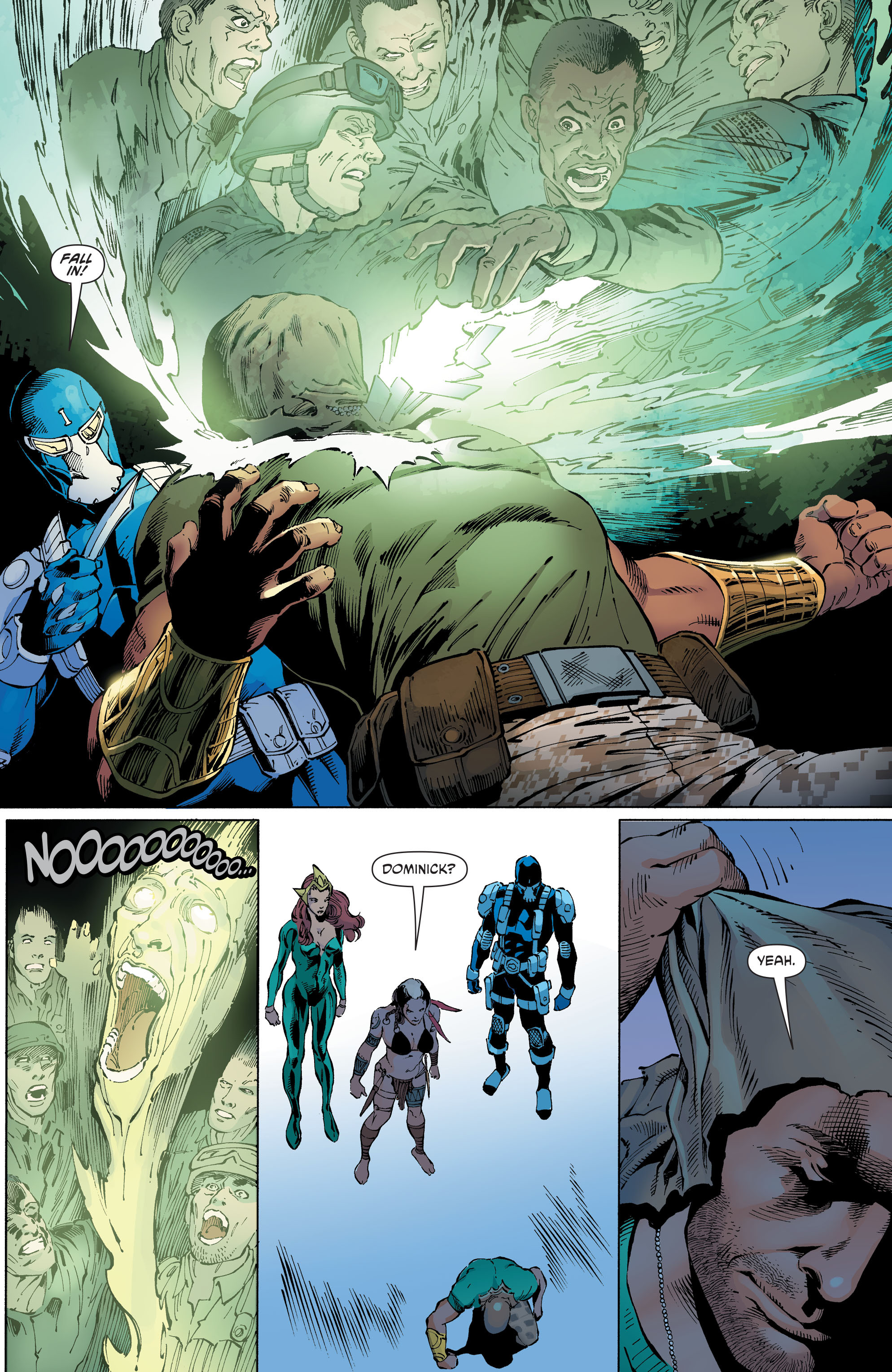 Read online Aquaman and the Others comic -  Issue #10 - 14