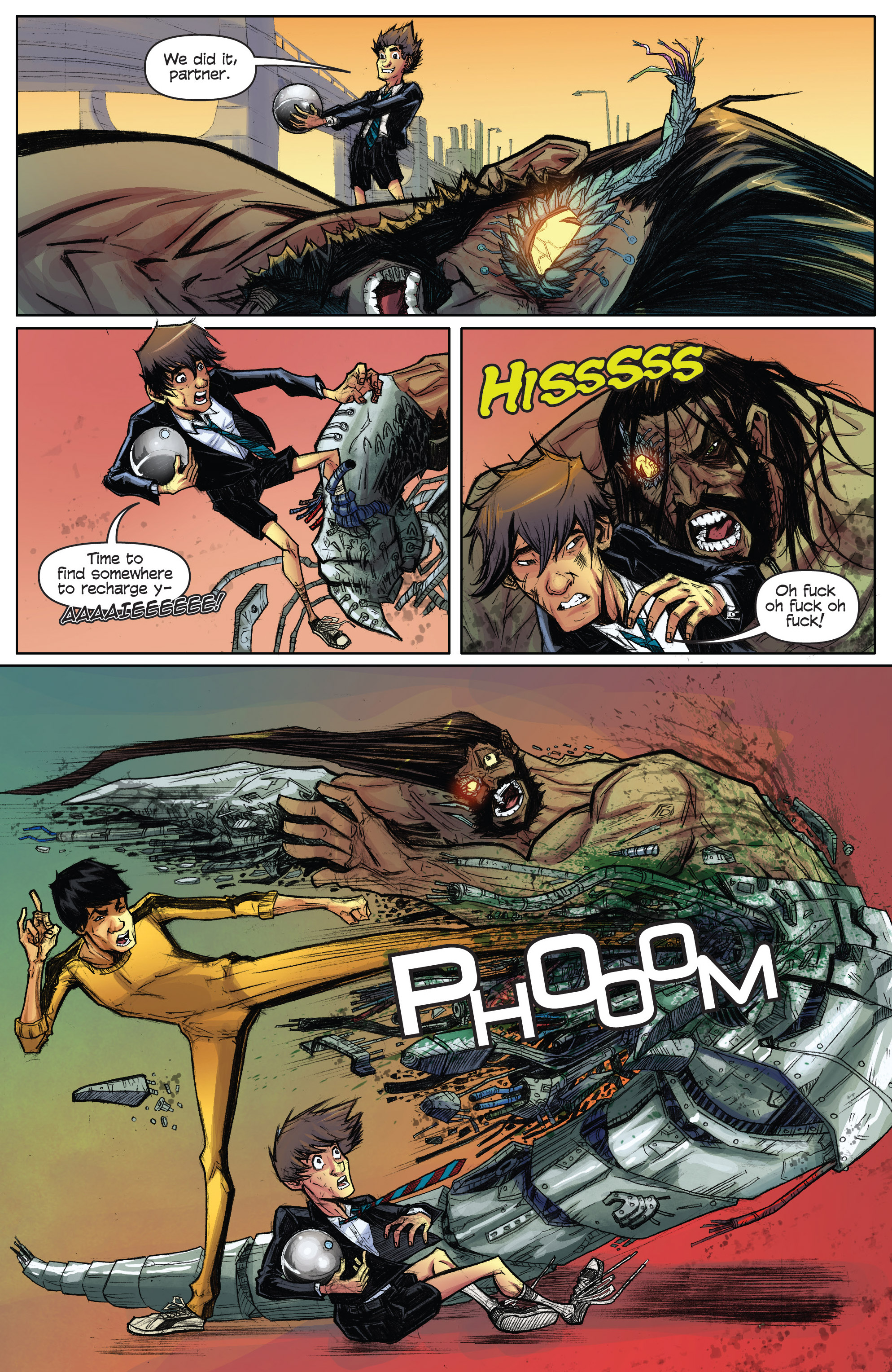 Read online Infinite Seven comic -  Issue #3 - 25