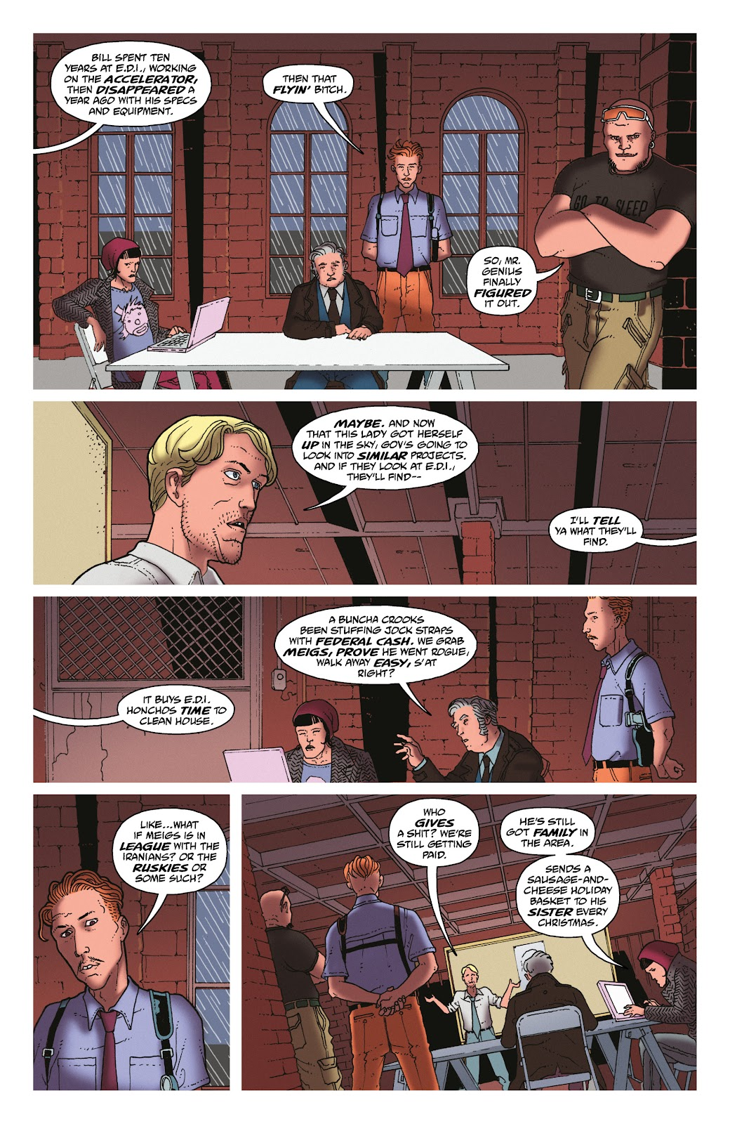 Read online She Could Fly comic -  Issue # _TPB - 45