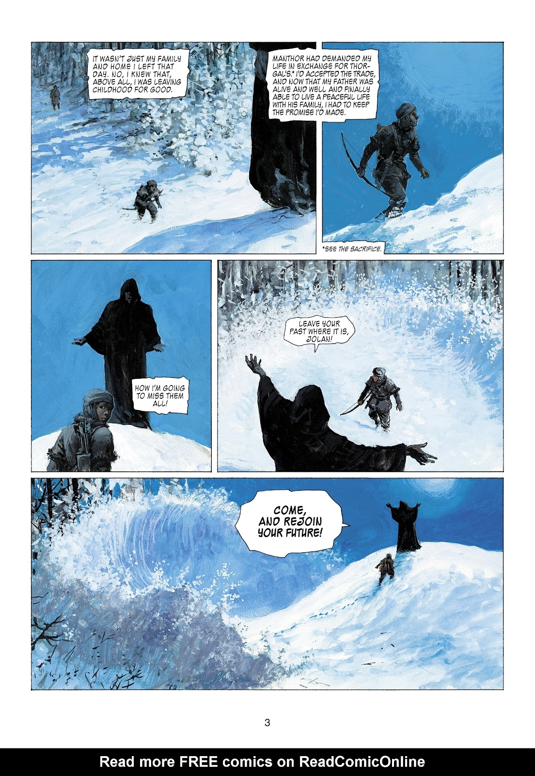 Read online Thorgal comic -  Issue #22 - 5