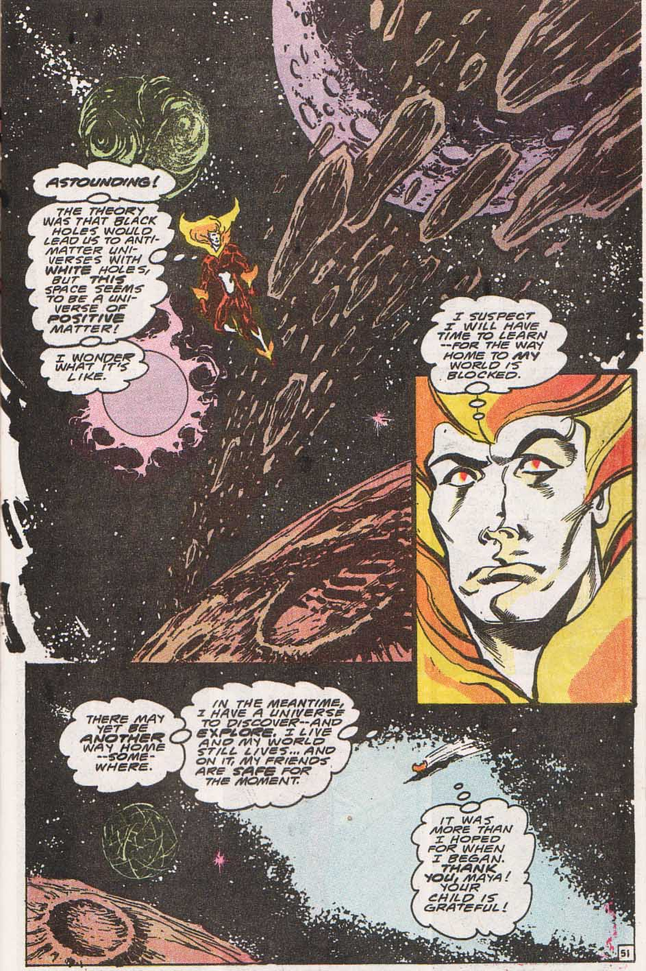 Firestorm, the Nuclear Man Issue #100 #36 - English 50