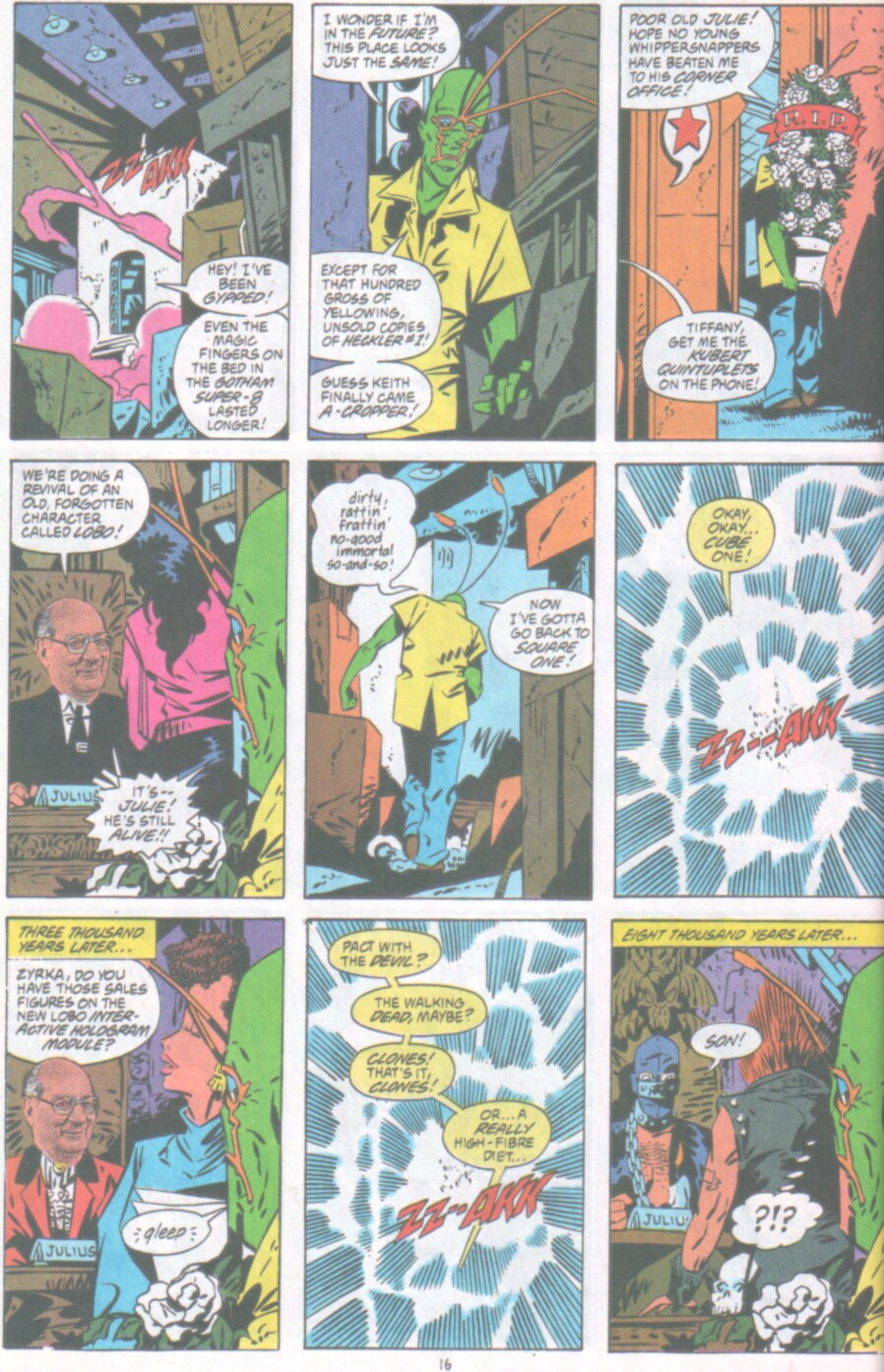 Read online Ambush Bug Nothing Special comic -  Issue # Full - 17