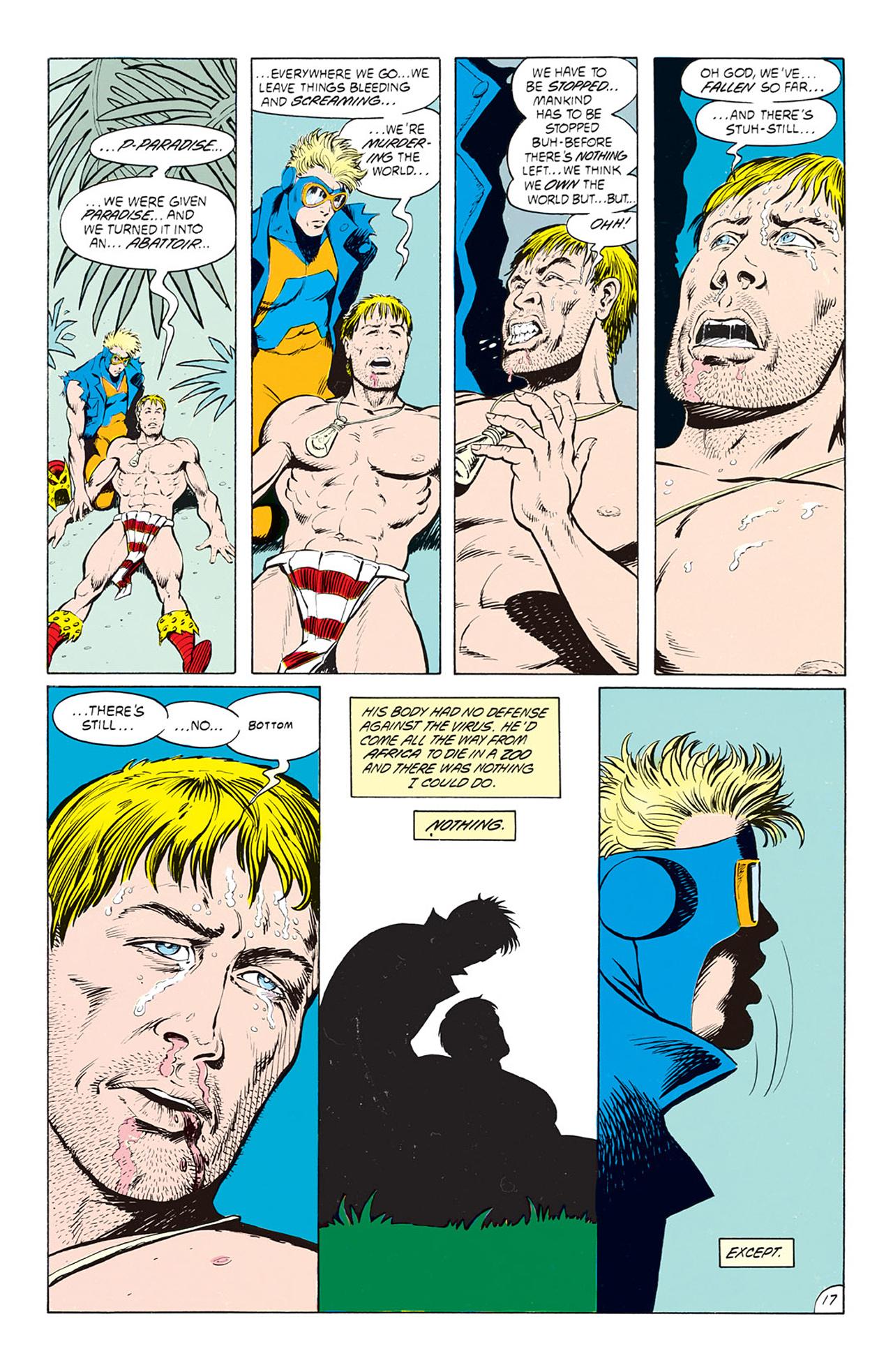 Read online Animal Man (1988) comic -  Issue #4 - 19