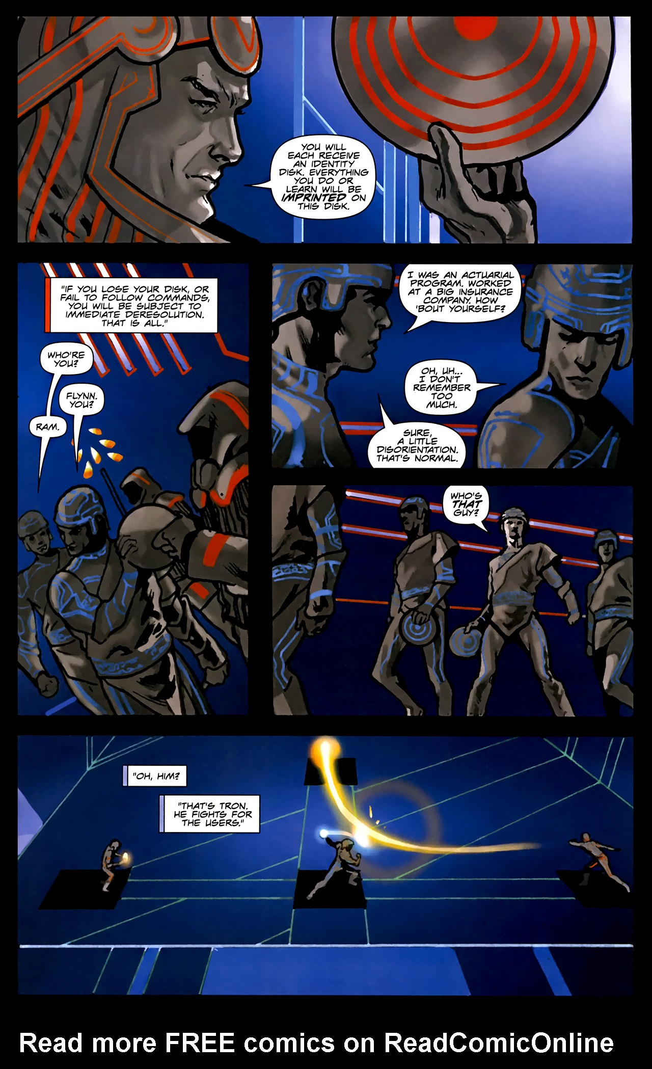 Read online TRON: Original Movie Adaptation comic -  Issue #1 - 33