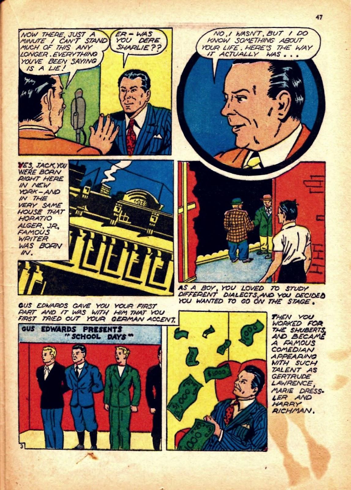 Read online Super-Magician Comics comic -  Issue #12 - 47