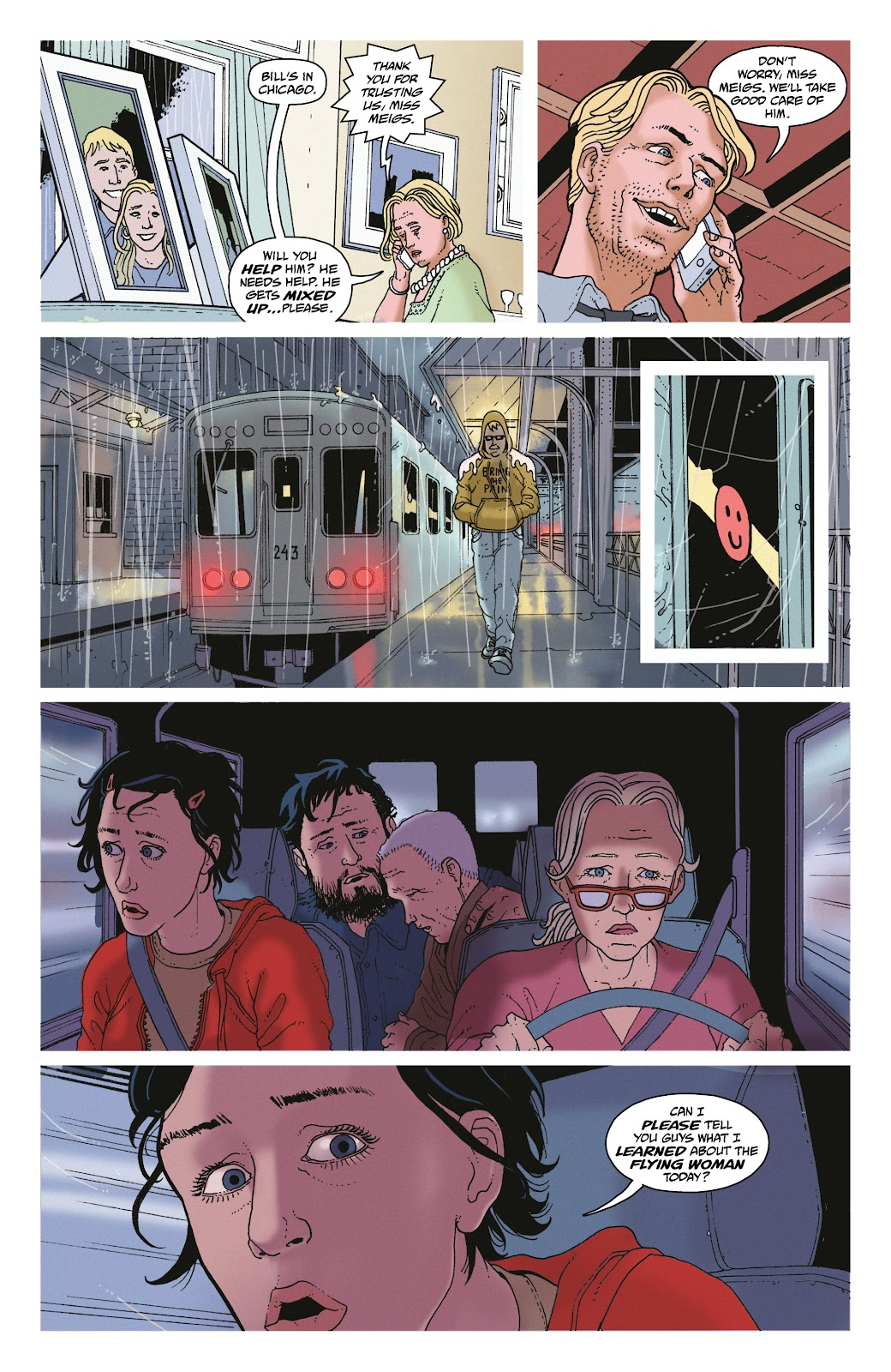 Read online She Could Fly comic -  Issue # _TPB - 70