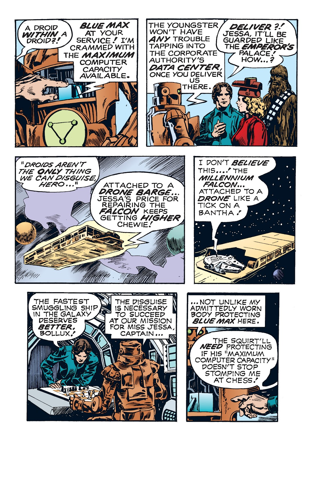 Read online Star Wars Legends: The Newspaper Strips - Epic Collection comic -  Issue # TPB (Part 4) - 19