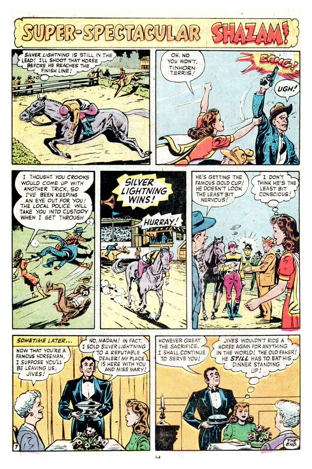 Read online Shazam! (1973) comic -  Issue #17 - 64