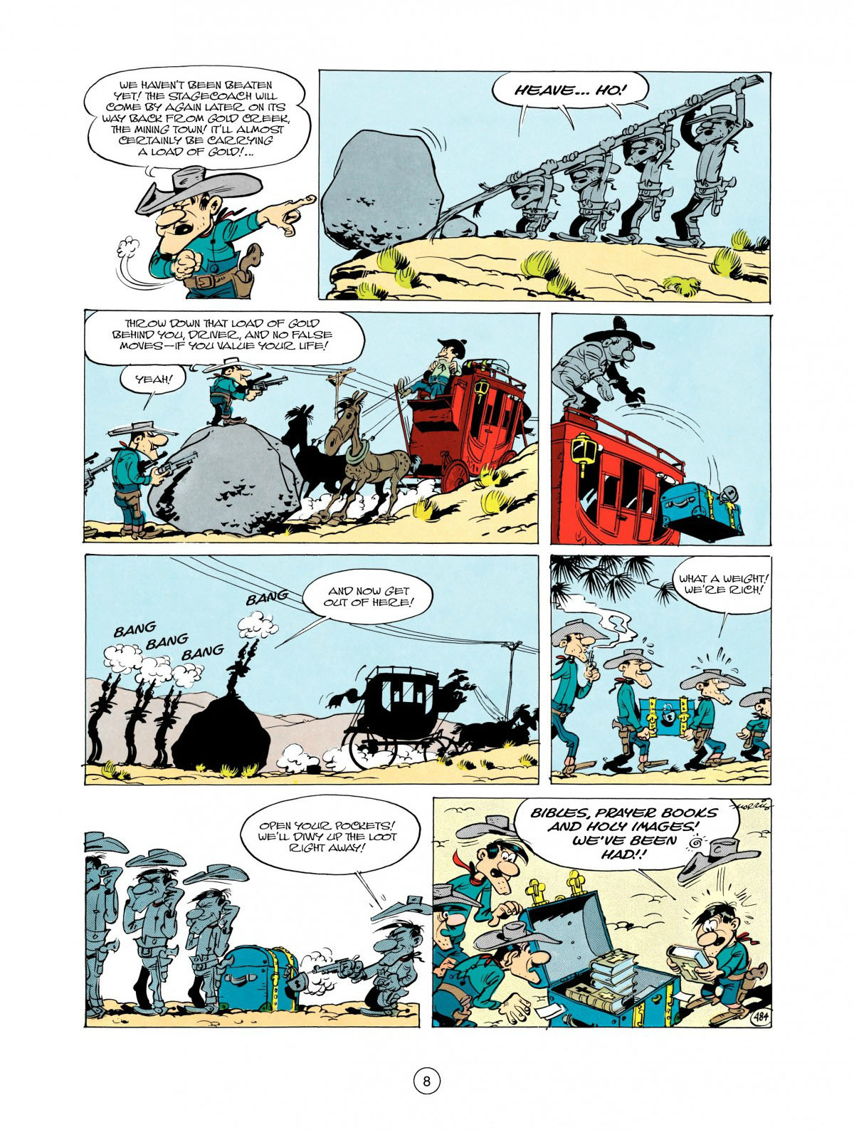 Read online A Lucky Luke Adventure comic -  Issue #28 - 9