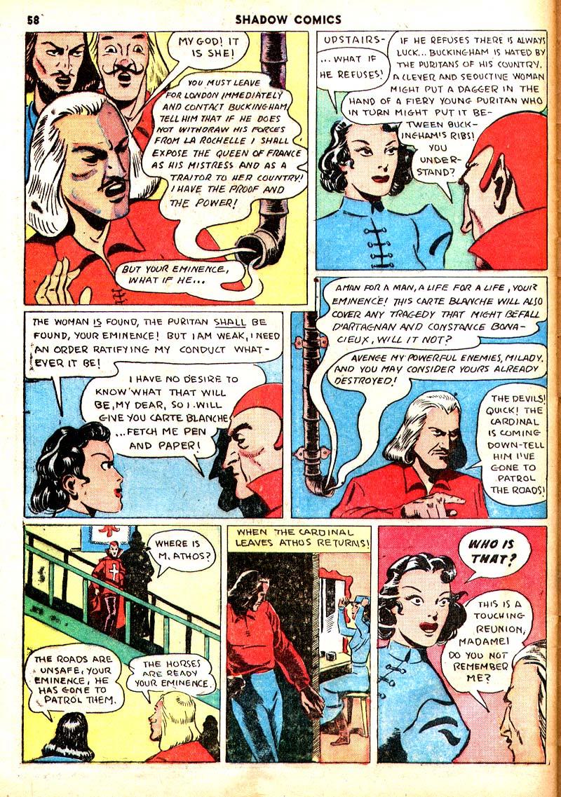 Read online Shadow Comics comic -  Issue #7 - 51