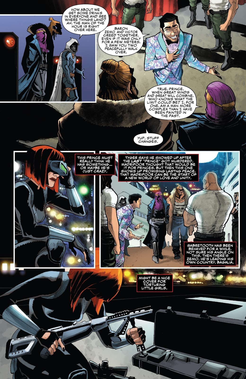 Read online Black Widow (2019) comic -  Issue #2 - 21