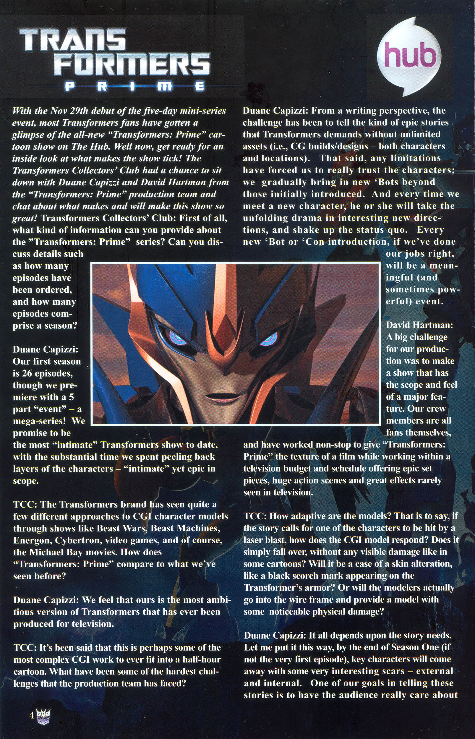Read online Transformers: Collectors' Club comic -  Issue #36 - 4