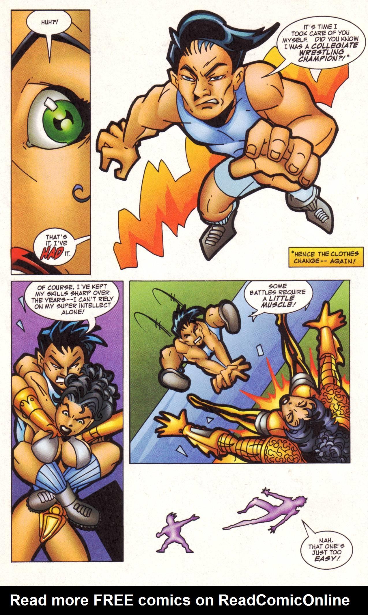 Read online Avengeblade comic -  Issue #2 - 11