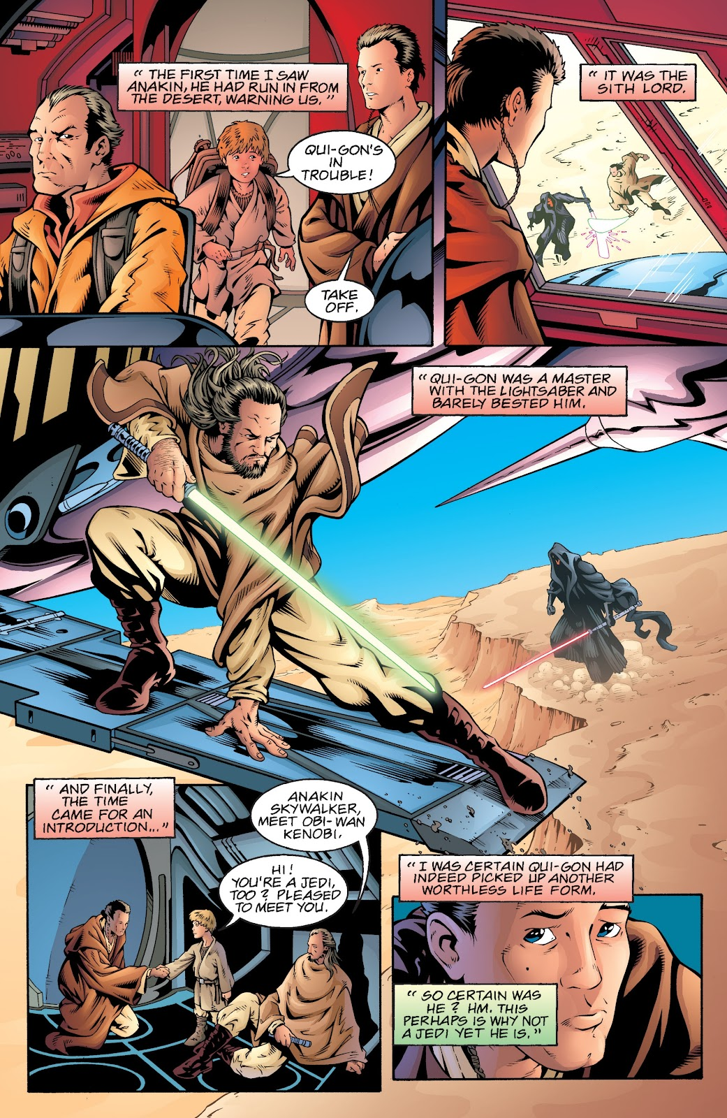 Read online Star Wars Legends: Rise of the Sith - Epic Collection comic -  Issue # TPB 2 (Part 5) - 35