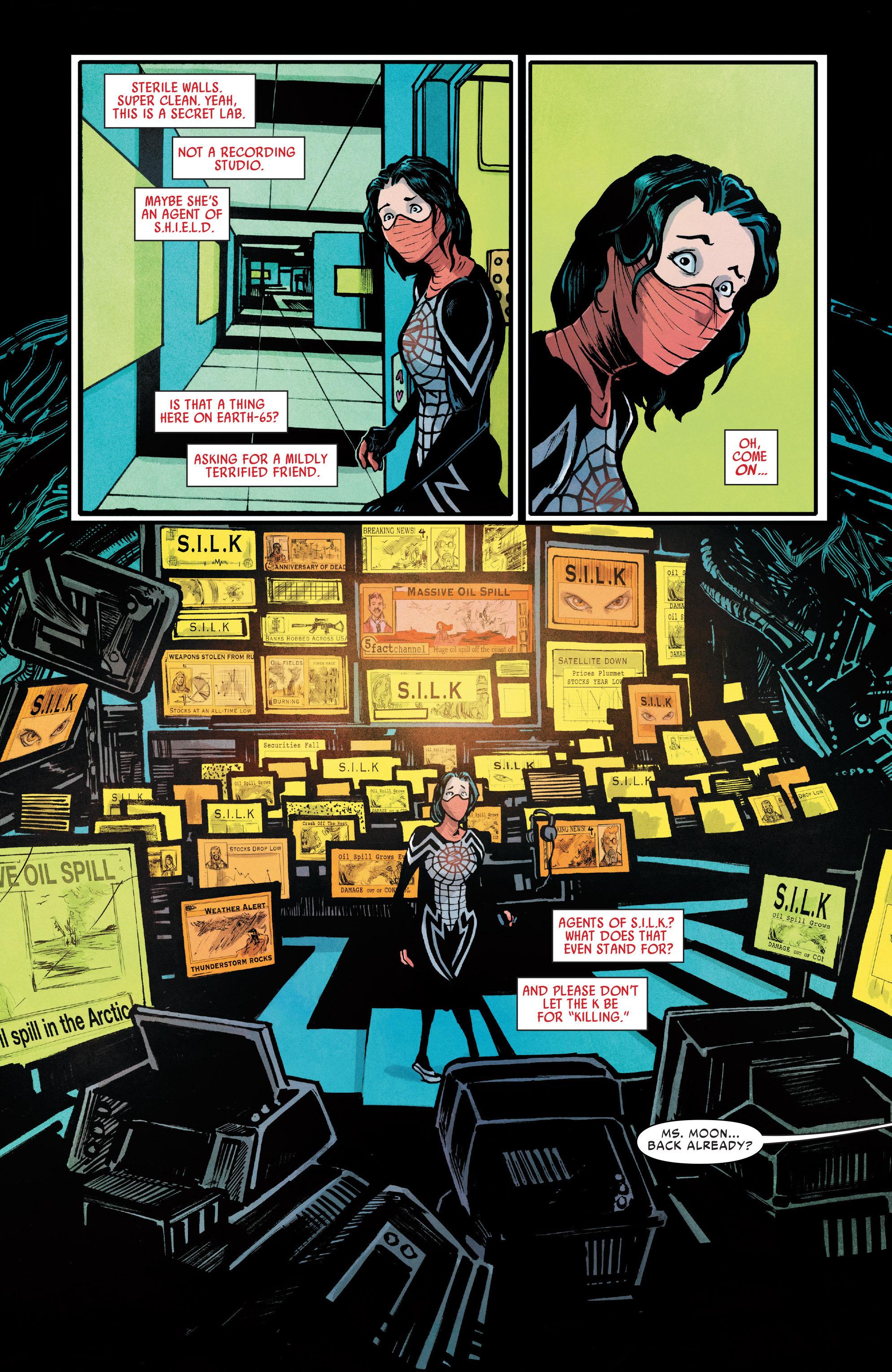 Read online Silk (2016) comic -  Issue #7 - 17