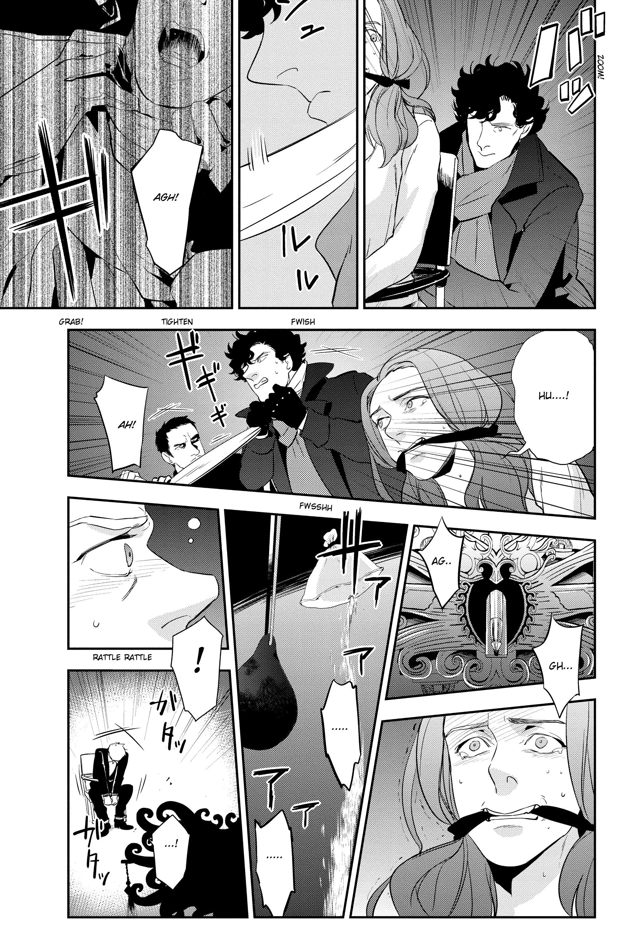 Read online Sherlock: The Blind Banker comic -  Issue #6 - 13
