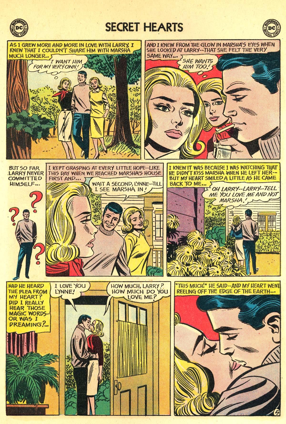 Read online Secret Hearts comic -  Issue #89 - 24