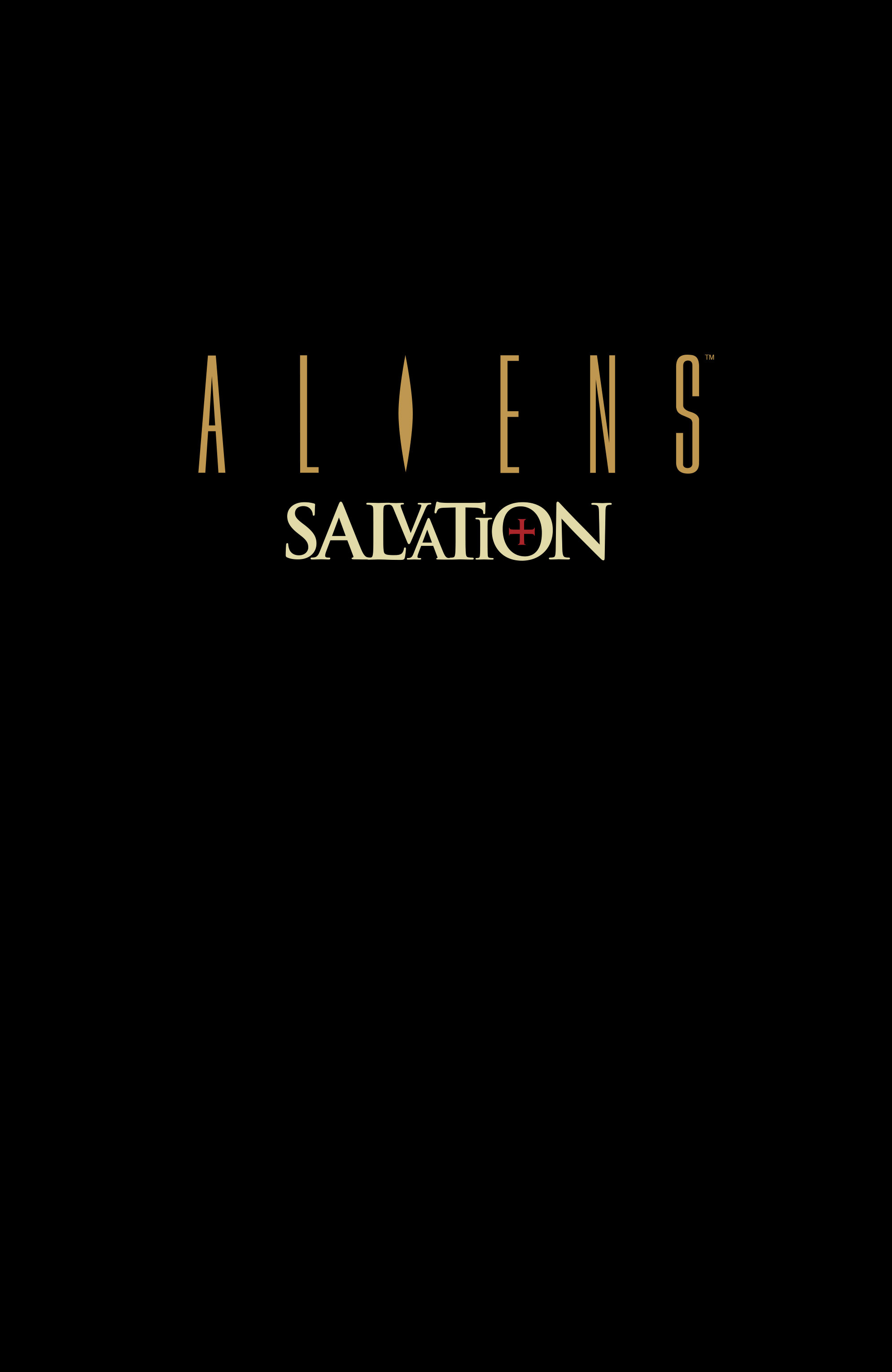 Read online Aliens: Salvation comic -  Issue # TPB - 3