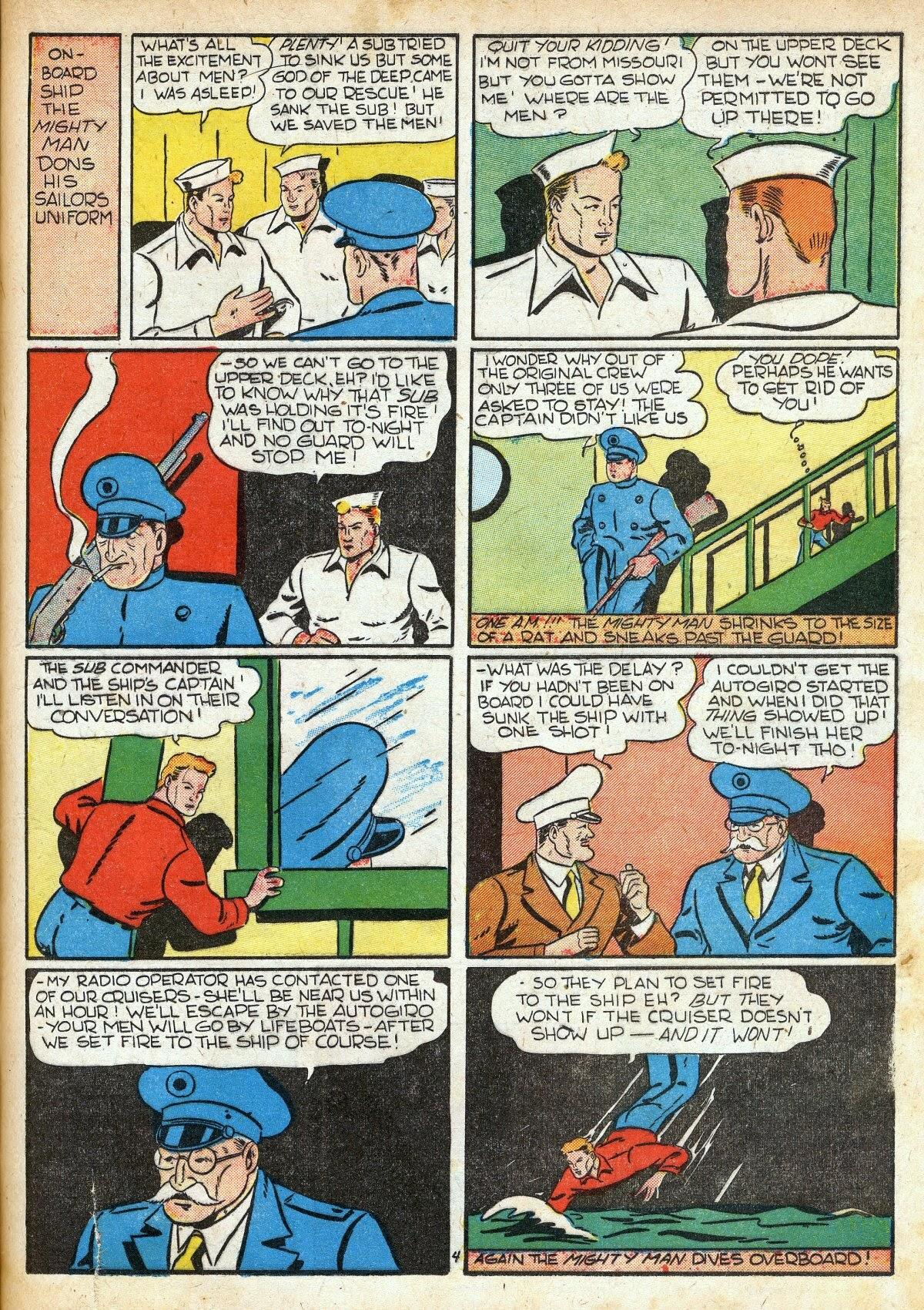 Read online Amazing Man Comics comic -  Issue #16 - 39